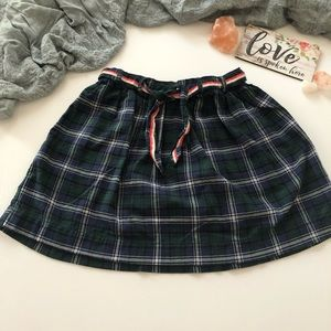 OshKosh B'gosh plaid mini skirt